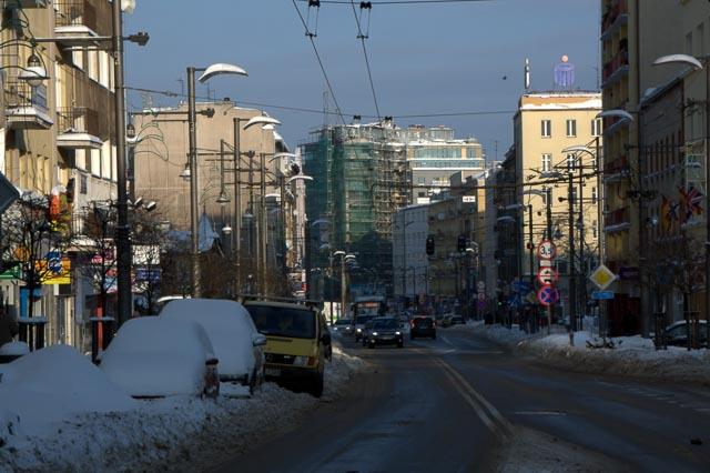 Gdynia, Poland - Swietojanska Street