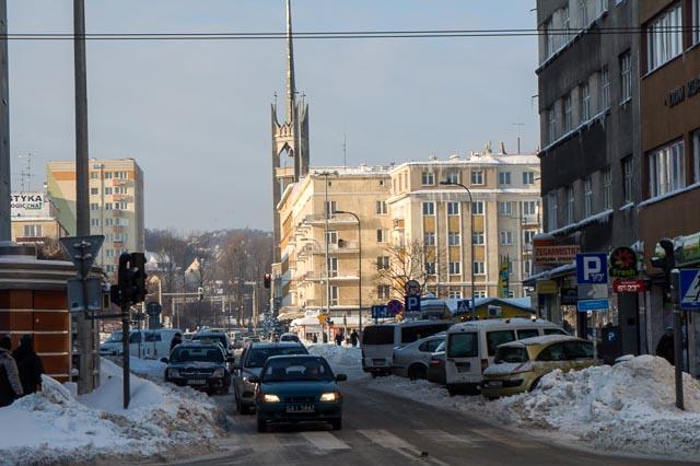 Gdynia, Poland - Stefana Batorego Street