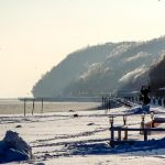 Gdynia, Poland - winter beach
