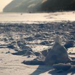 Gdynia, Poland - winter beach