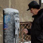 Gdynia, Poland - winter weather
