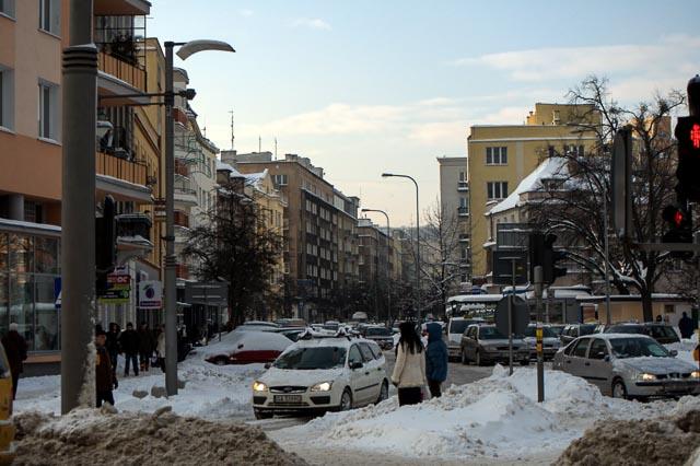 Gdynia, Poland - Starowiejska Street