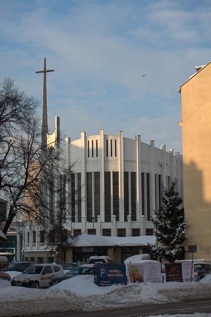 Gdynia, Poland - church