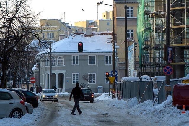 Gdynia, Poland - Zeromskiego Street
