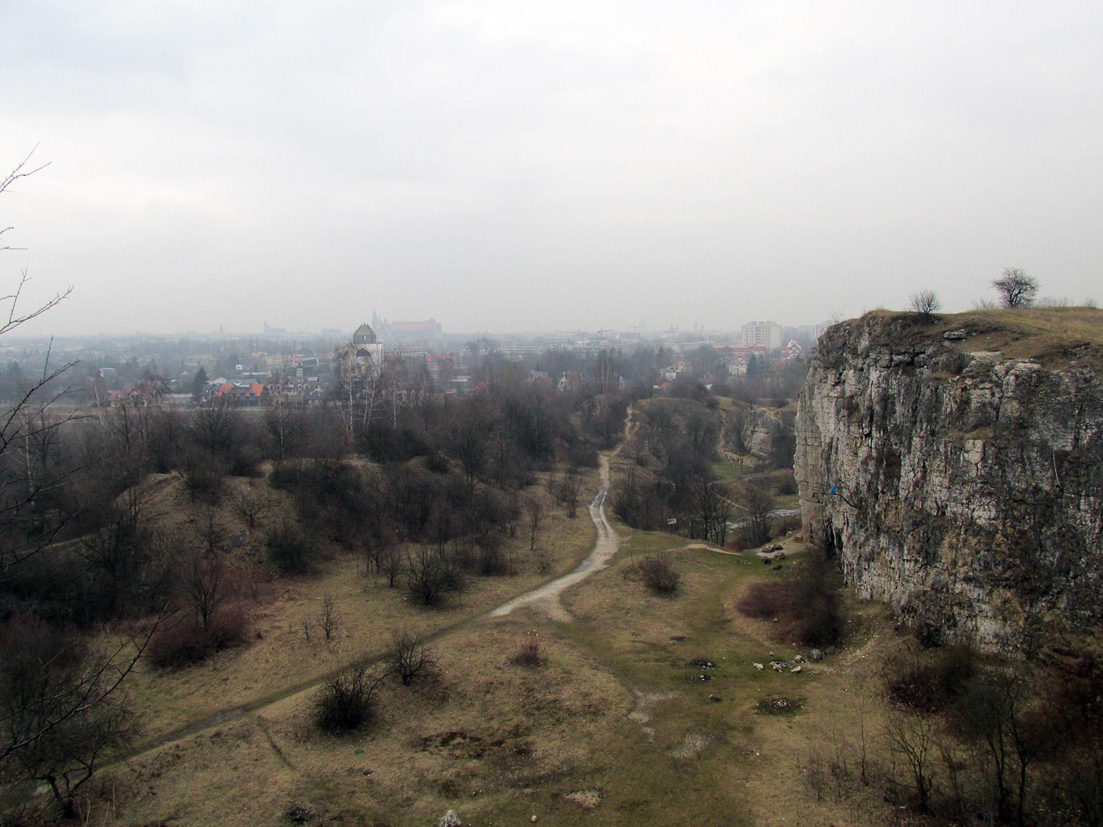 Krakow, Zakrzowek (Poland) - old quarry