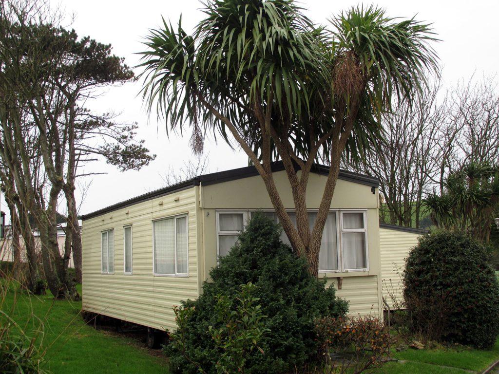 Cornwall, Newquay Campsite