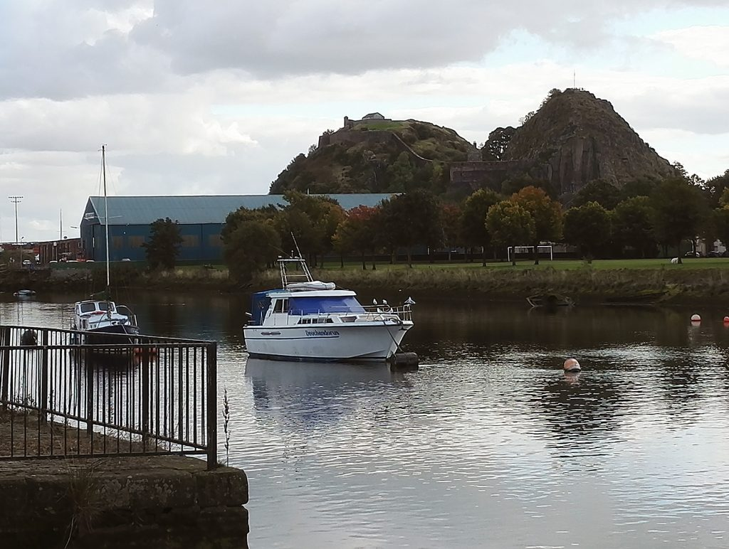 Dumbarton, Scotland - the marina