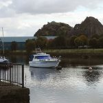 Dumbarton, Scotland - the marina