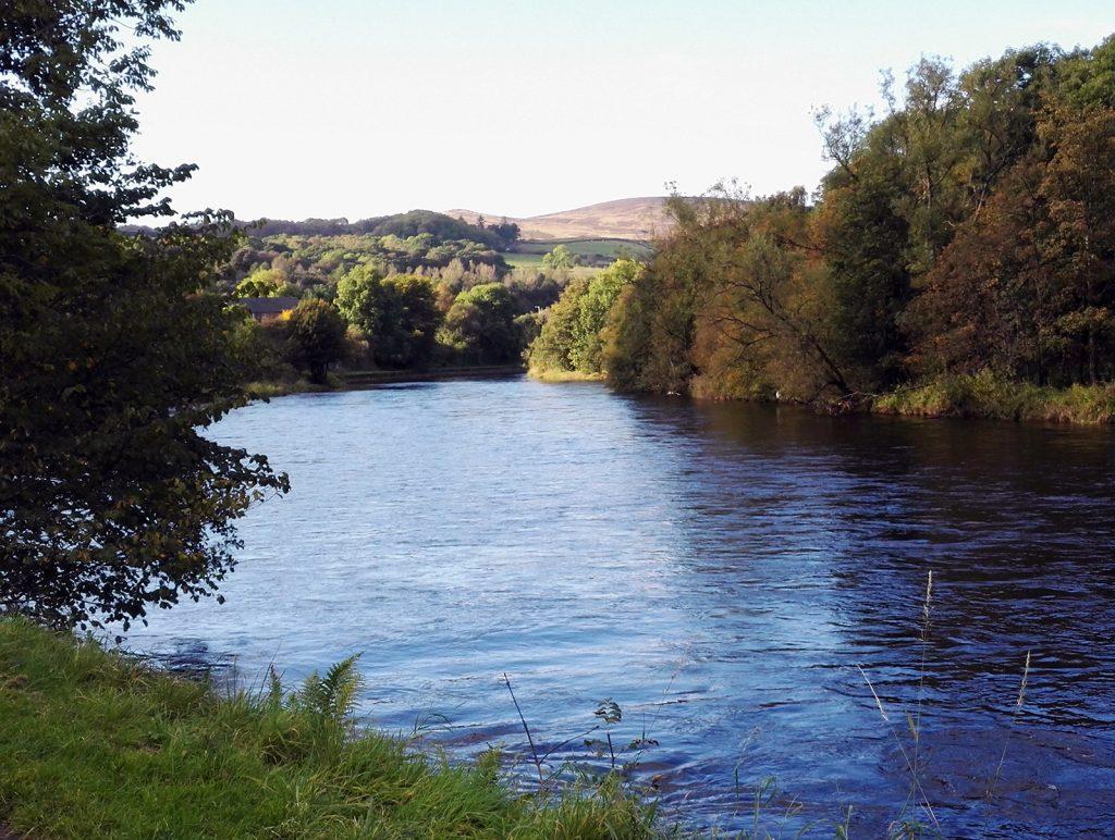 River Leven (Scotland) near Dumbarton, Scotland