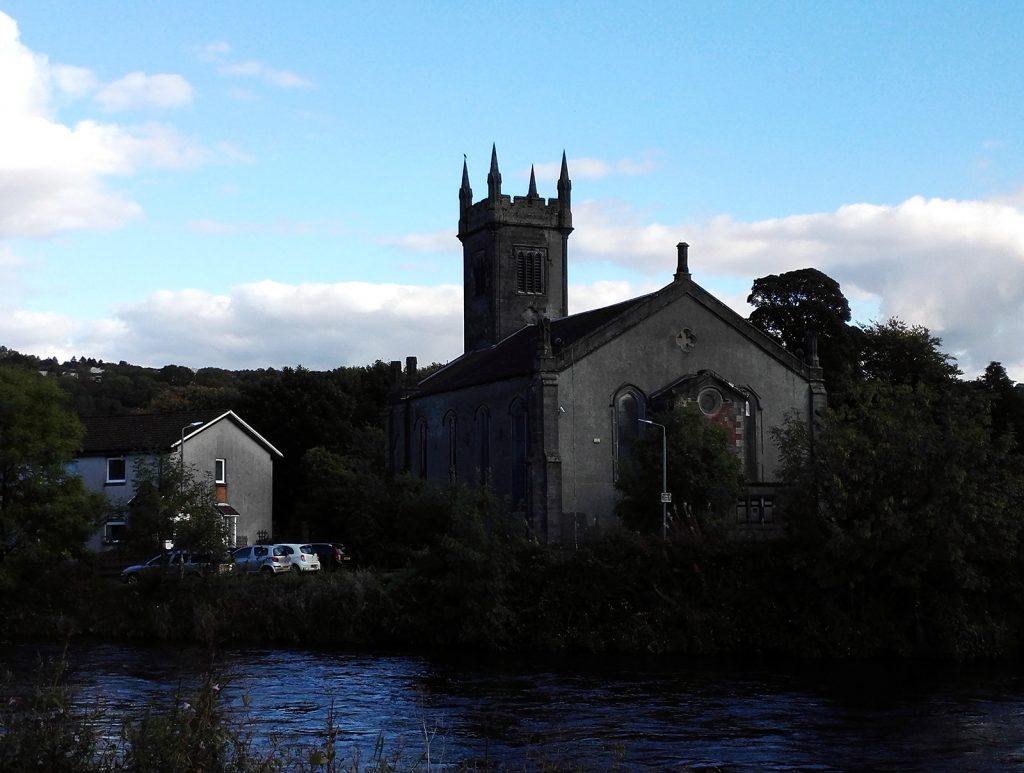 Old the church - river Leven, Scotland