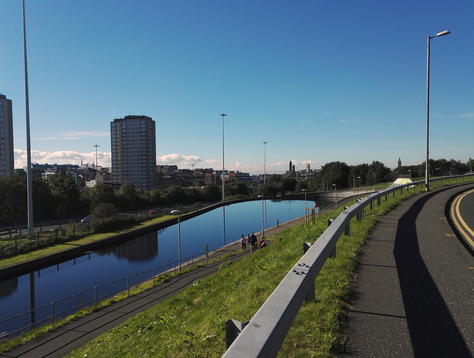 Forth and Clyde Canal (Scotland) - Port Dundas (1820) - Glasgow