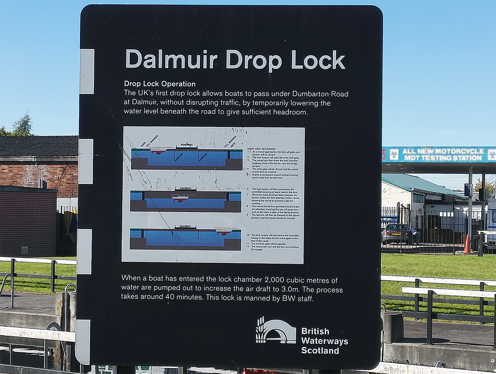 Forth and Clyde Canal (Scotland) - Dalmuir