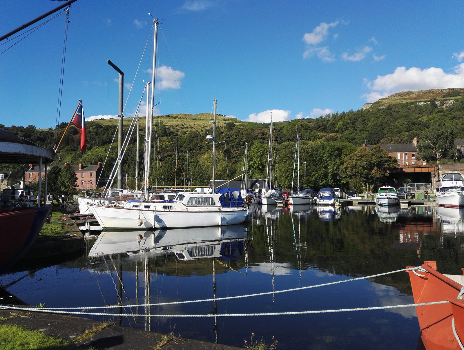 Bowling, Forth and Clyde Canal (Scotland)