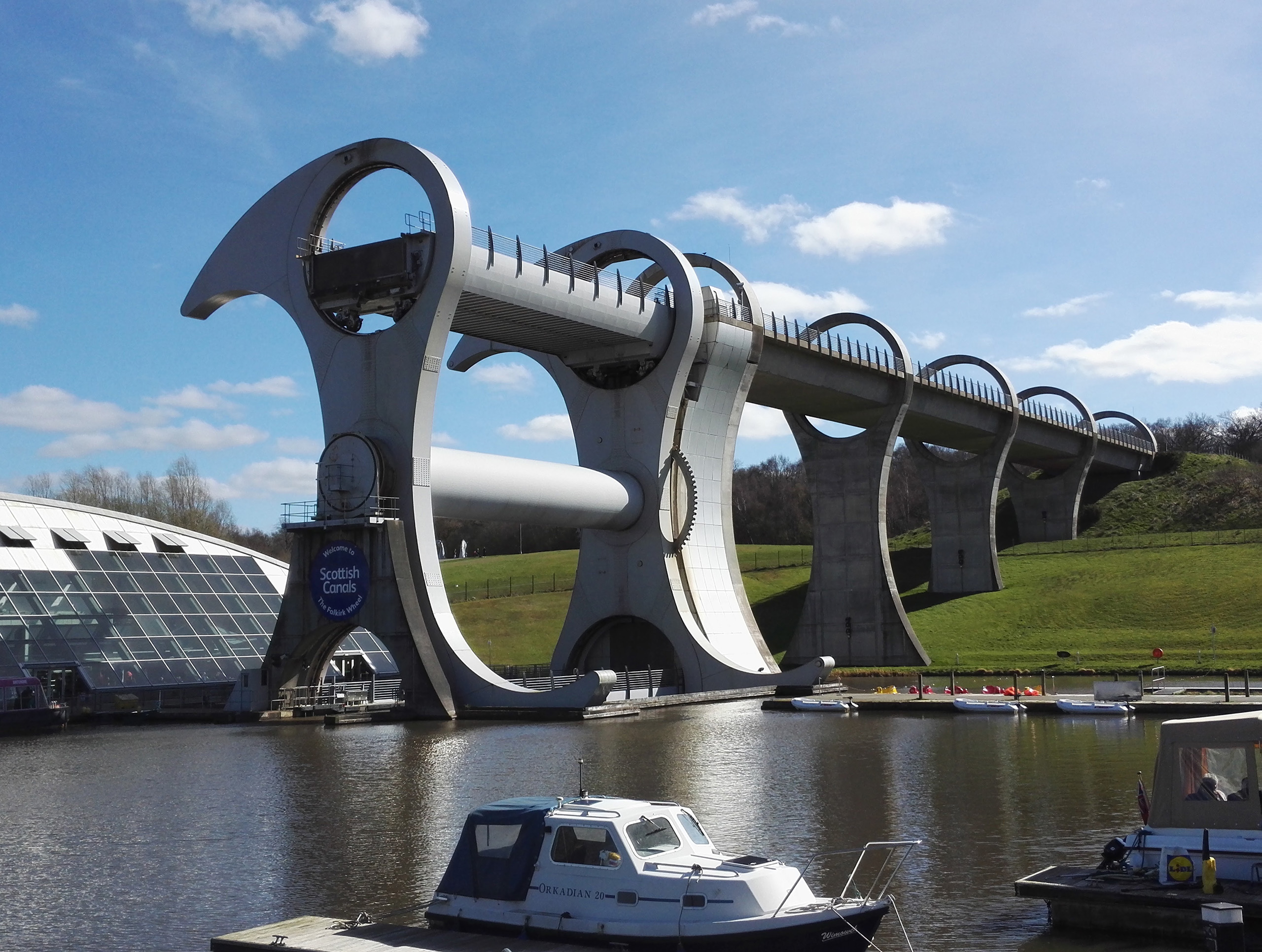Falkirk, Wheel, Scotland, engineering