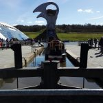 The Falkirk Wheel - canal